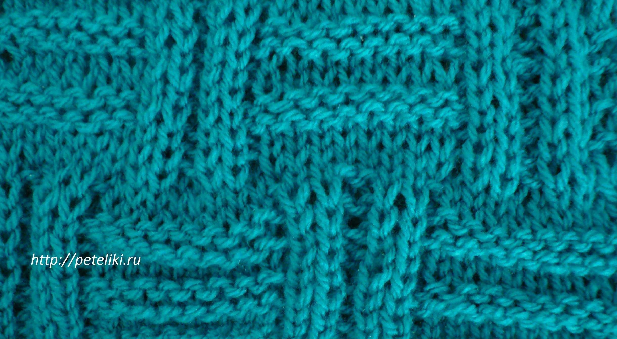Корзинка узоров для вязания спицами