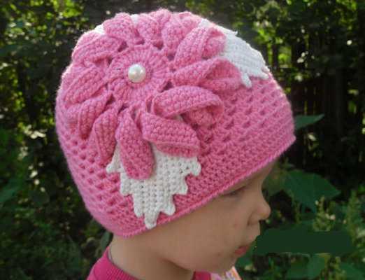 двойная шапка крючком - шапка.