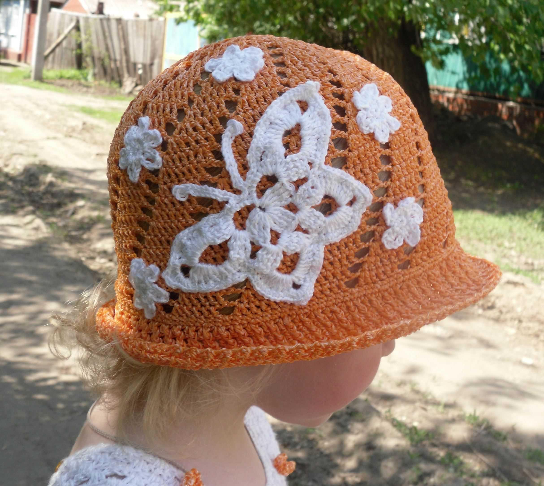 """Летняя шляпка """"Бабочка"""""""
