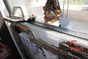вязание на вязальной машине нева
