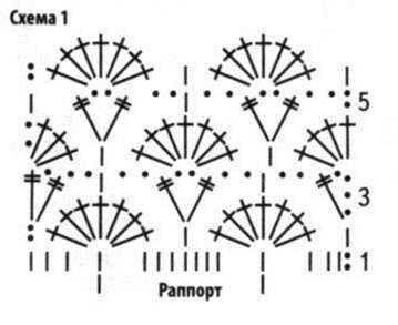 Схема1 к ажурному жилету