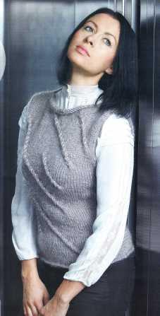 Название: Вязание модно и просто 25(155) 2012 Год/месяц: 2012/ декабрь Издательство: Газетный