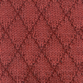 Вязание спицами ромбы образцы и описания