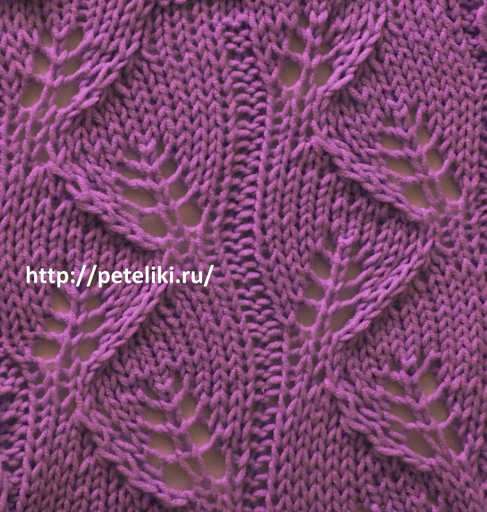 Красивый узор вязание от а до я 52