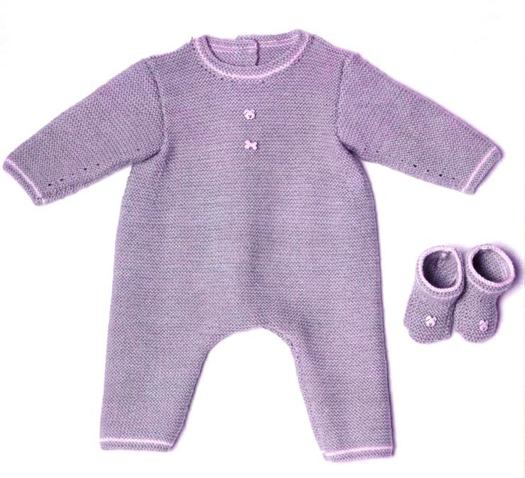 Комбенезон для новорождённого