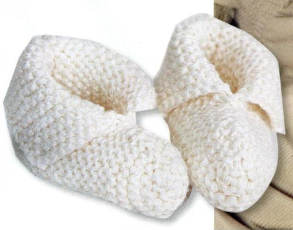 Пинетки спицами. . Бесплатные схевы вязания пинеток для начинающих и опытных