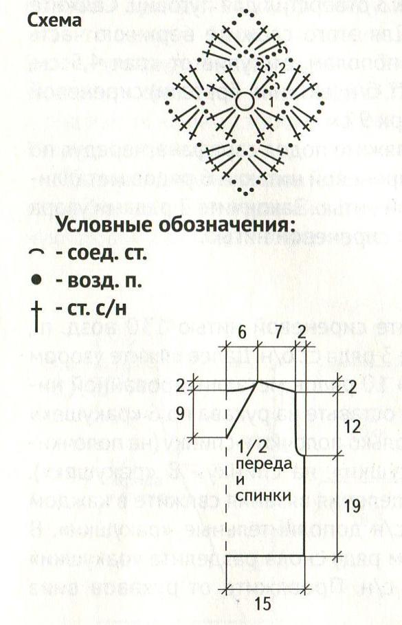 Bezrukavka-dlya-malchika-vyazanaya-spitsami-shema