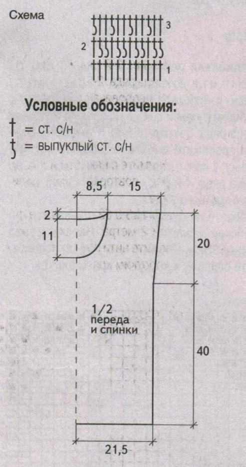 пончо с кистями вязаное крючком схема