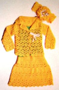 Детский ажурный костюм