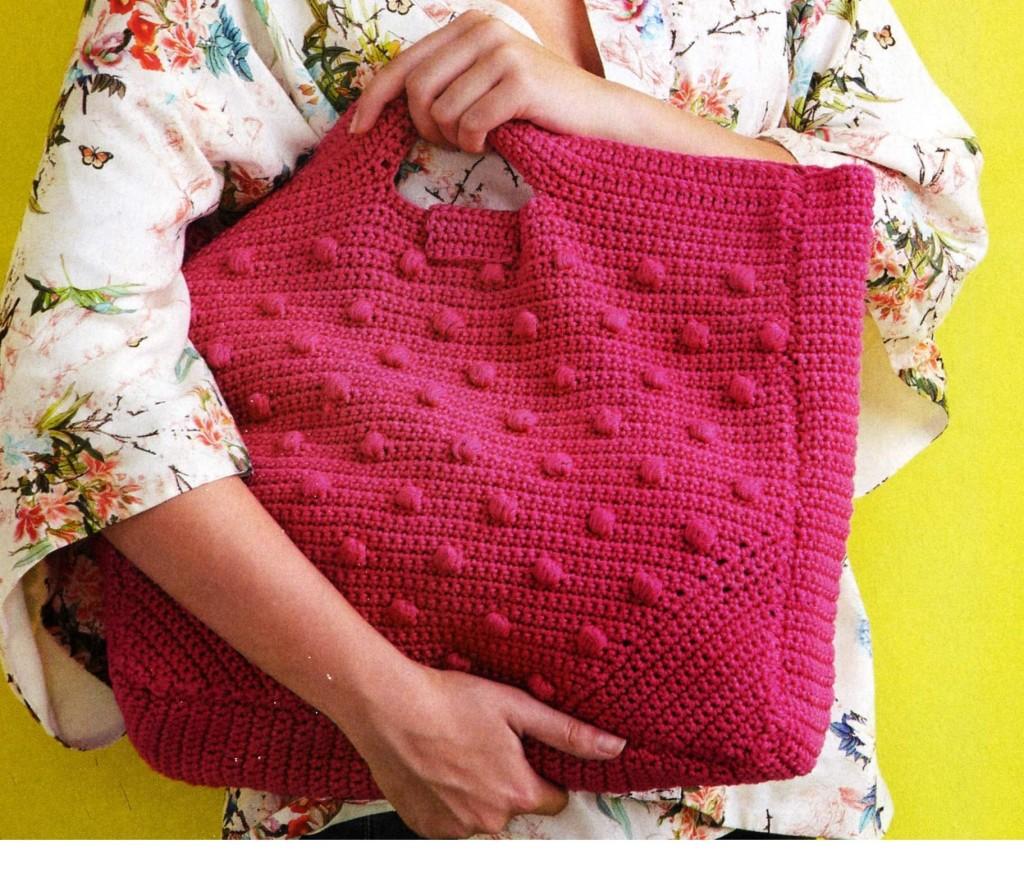 Вязание крючком пляжные сумки 71