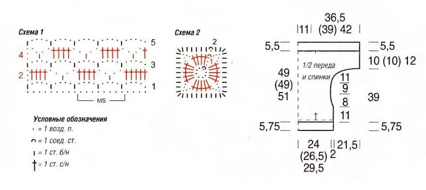 Узоры крючком схемы для черной пряжи