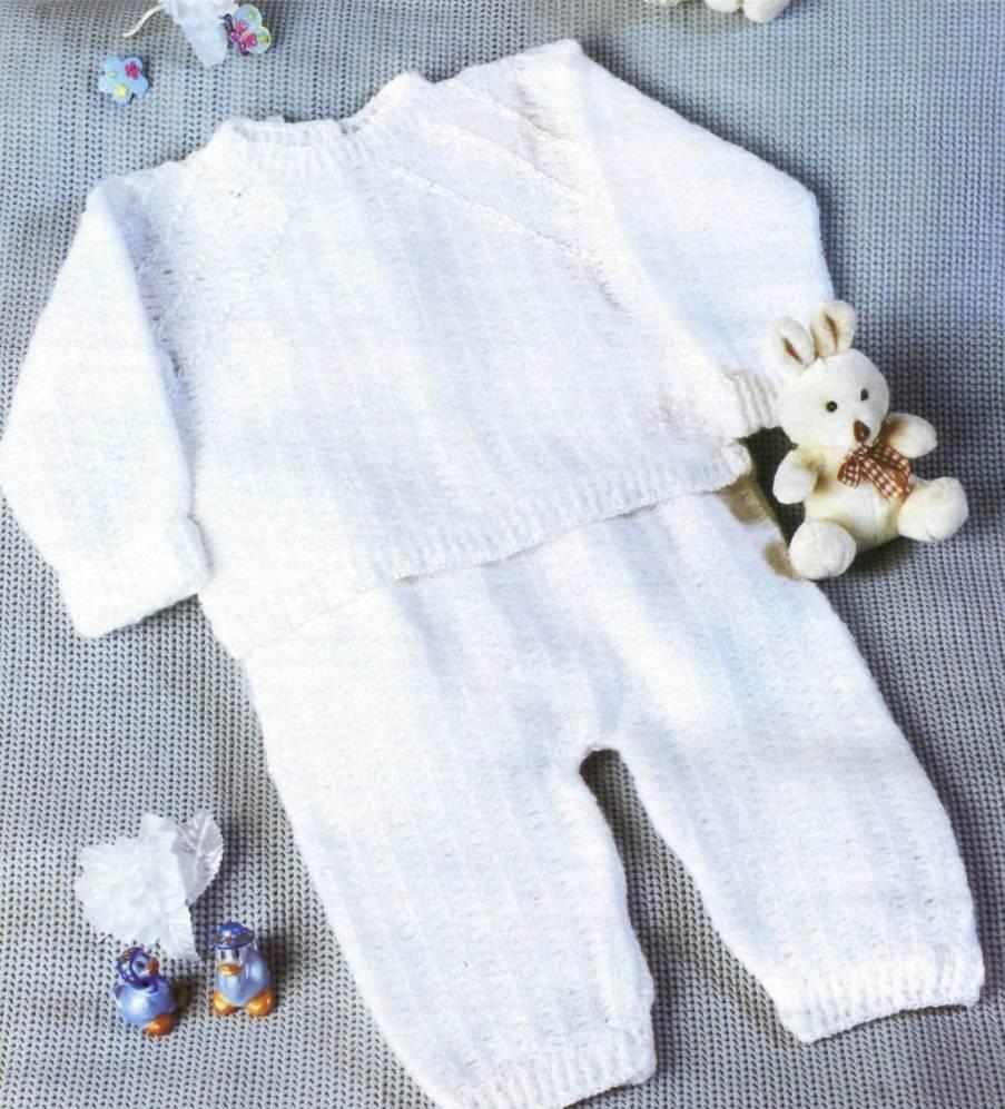 Детский костюм: джемпер и штанишки — петелики