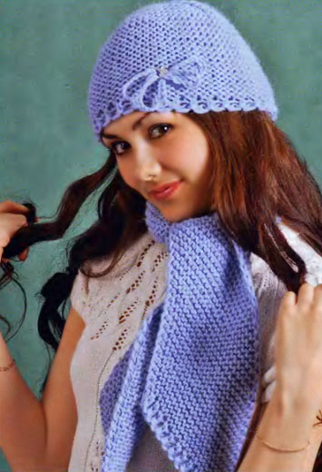 Шапка и шарф «Очарование»